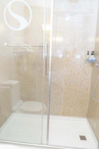 Shower Bathroom Hotel Room Photo