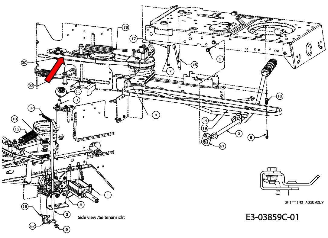 Pasek Klinowy Przek Adni Do Mtd Bl 155 92 Smart Re125