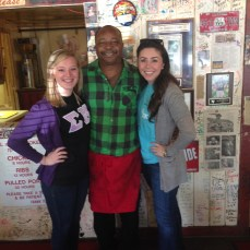 Pit master Jerry Edwards and us