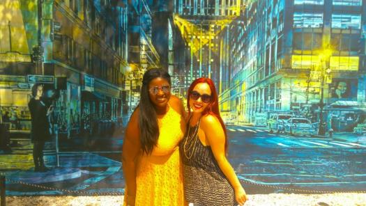 Malaina and I in Wynwood