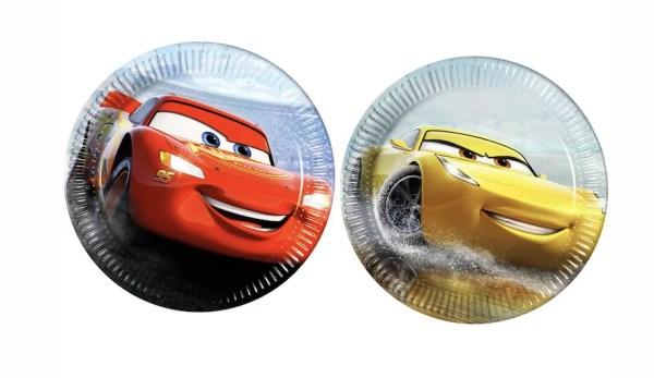TALERZYKI PAPIEROWE CARS AUTA 1