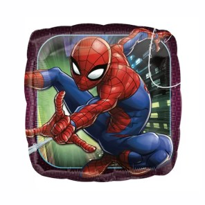 BALON FOLIOWY SPIDERMAN 43 CM