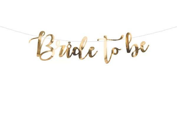 GIRLANDA BRIDE TO BE 1