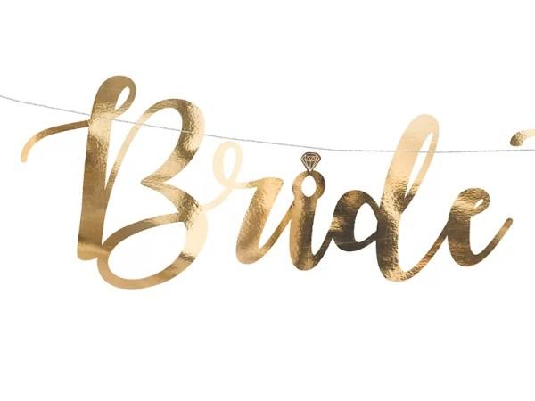 GIRLANDA BRIDE TO BE 2