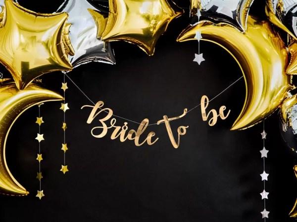 GIRLANDA BRIDE TO BE 4