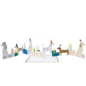 KARTKA 3D PSIA IMPREZA MERI MERI