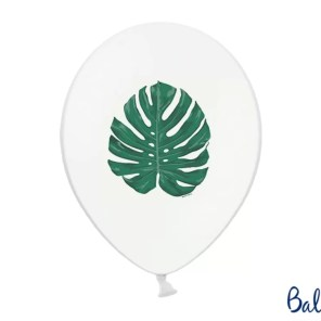 BALON MONSTERA 30 CM