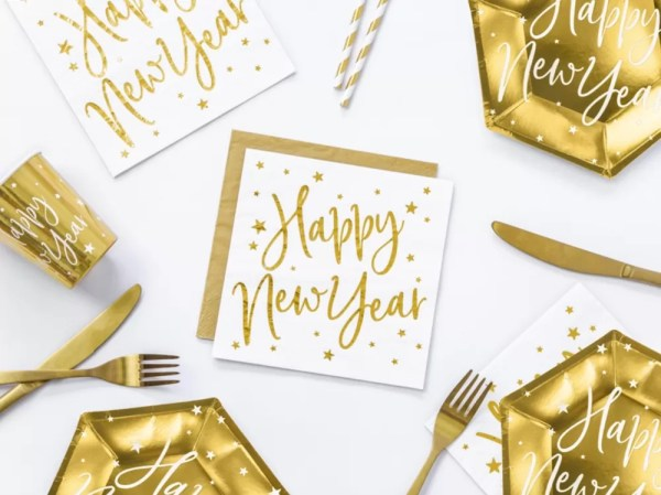 SERWETKI HAPPY NEW YEAR 2