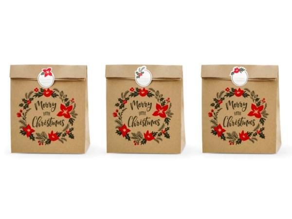 TOREBKI MERRY LITTLE CHRISTMAS 25x11x27 CM 1