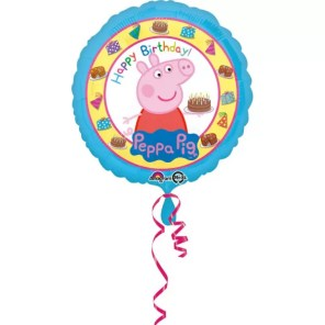 BALON PEPPA HAPPY BIRTHDAY 43 CM