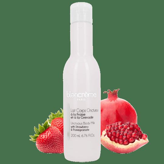 BLANCREME TRUSKAWKA i GRANAT - mleczko do ciała