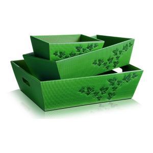 zielony kosz na prezenty