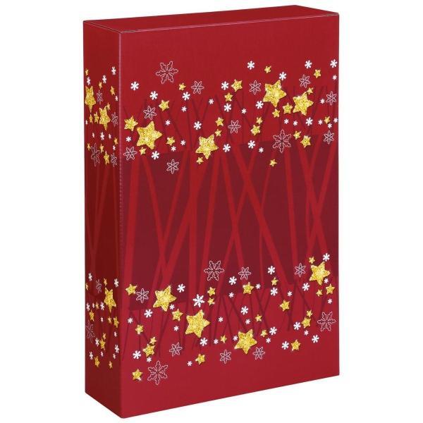Świąteczne pudełko na wino