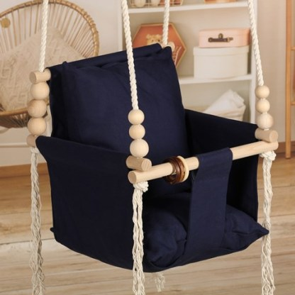 Huśtawka Vintage Decor Navy Blue