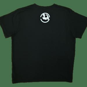 Sama koszulka z tyłu - Tanio skóry nie sprzedam czarna