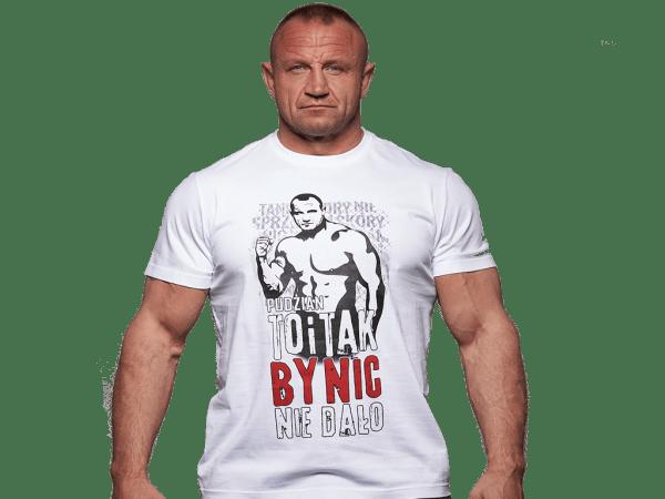 Biała koszulka To i tak by nic nie dało przód