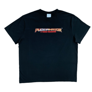 Czarna koszulka Pudzianator przód