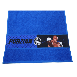 Niebieski ręcznik Pudzian Team