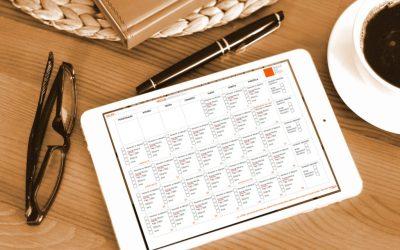 Kalendarz działań marketingowych na Etsy na 10'2020