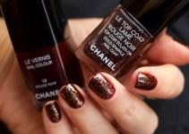 Chanel Le Top Coat Rouge Noir and Chanel 18 Rouge Noir