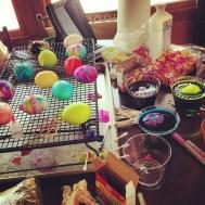 Dying Easter Eggs: Easter