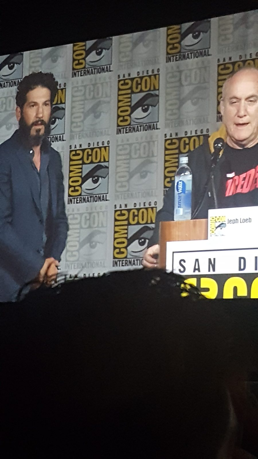 John Bernthal wants the audience to watch the Luke Cage sizzle again.