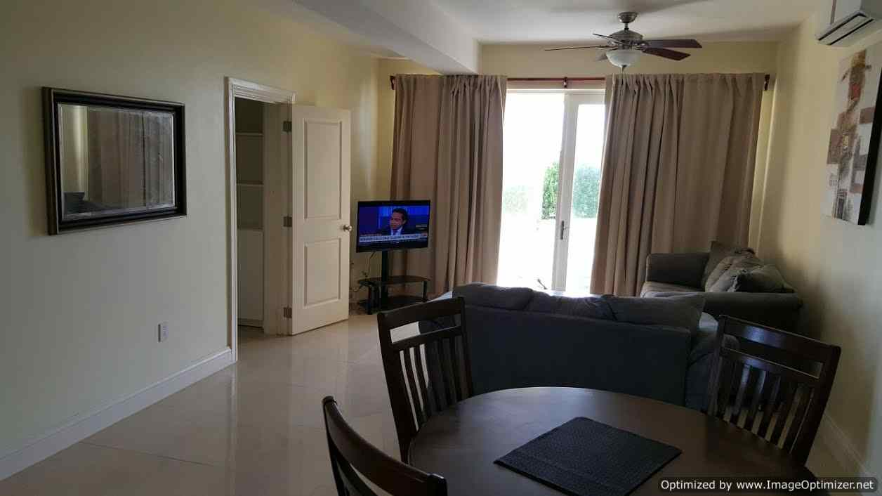 1 Bedroom Apartment For Rent   Half Moon Bay Height, St Kitts  Living Rm