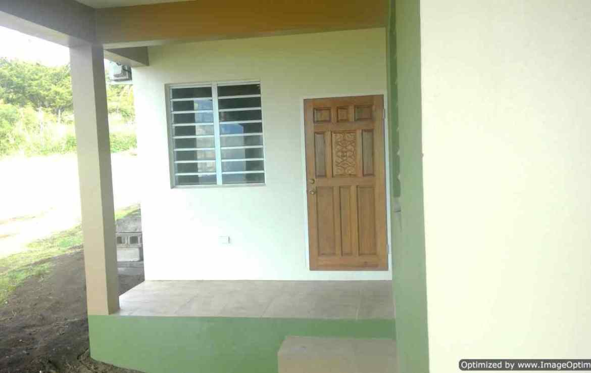 2 Bedroom House For Rent at Camps Estate, St Kitts