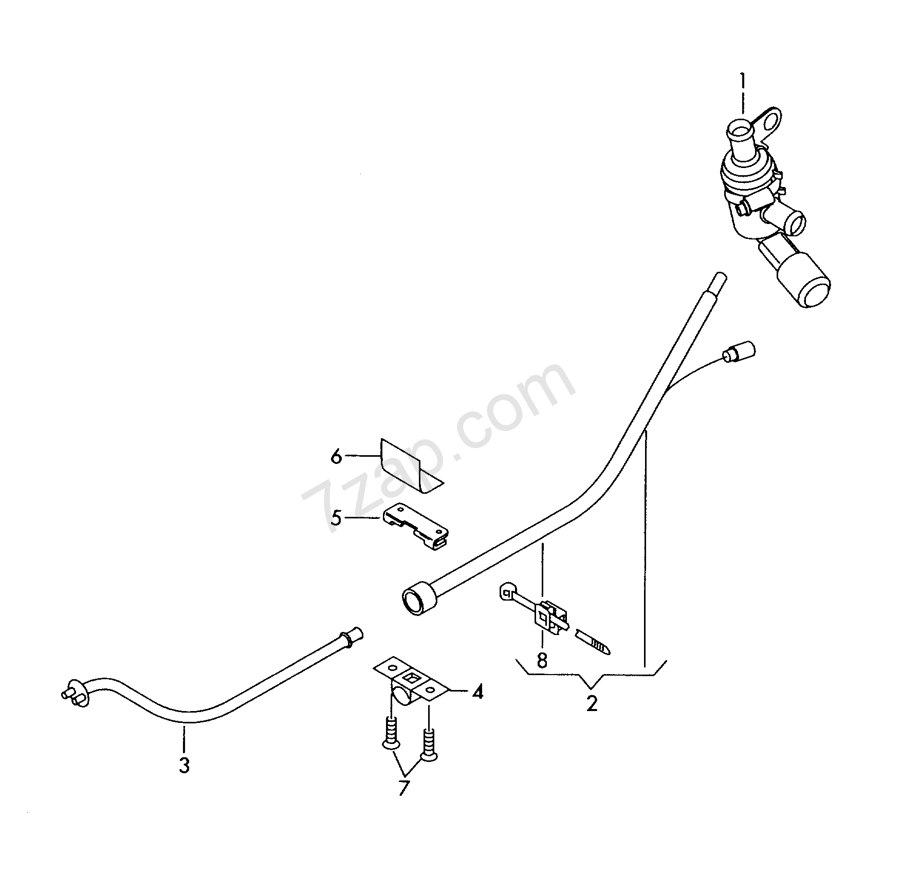 Wiring Harness For Additional Current Supply Octavia Oct
