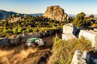 1. leg Rally Italia Sardegna 2020, (ITA), WRC 2, Oliver Solberg/Aaron Johnston (SWE/IRL)