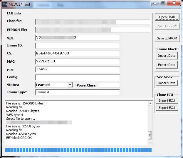 Модуль MED17 WFS4