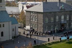 Setning Alþingis, 1. okt. 2008.