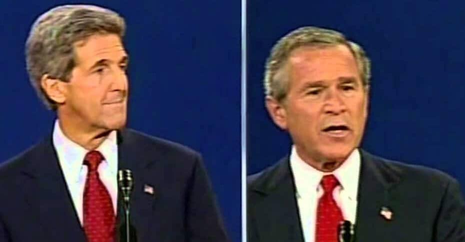 Bush sigraði Bandaríkin, Kerry sigraði heiminn