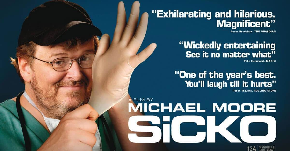 Michael Moore svarar gagnrýni á Sicko
