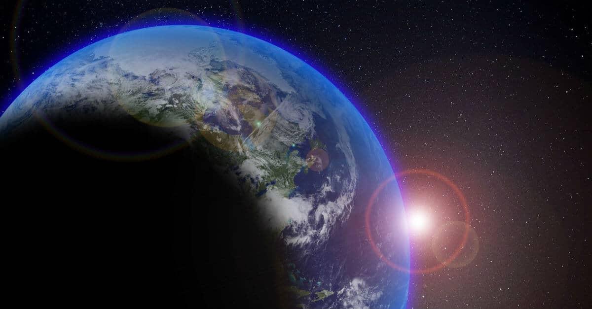 planet-earth-sun