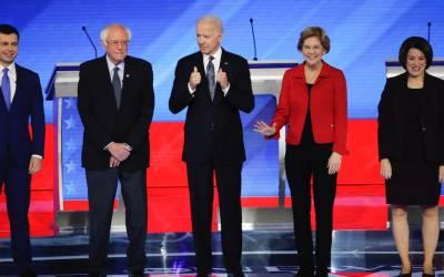 Sigrar Sanders í New Hampshire?