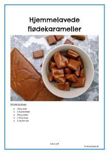 thumbnail of Hjemmelavede flødekarameller