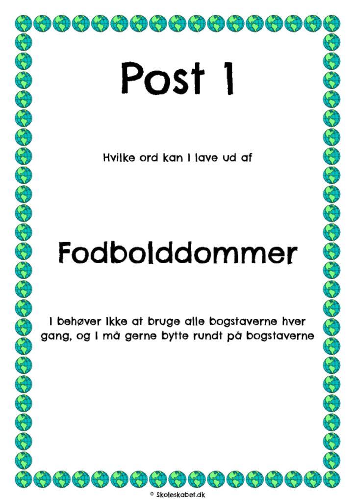Danskløb – fodbold