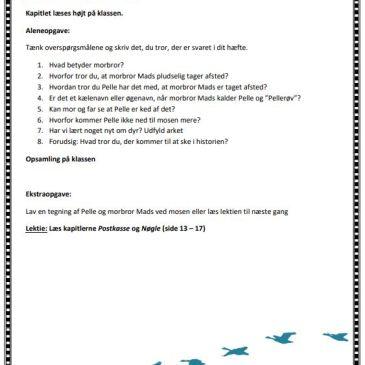 Vi ses, Pellerøv – et undervisningsforløb til danskundervisningen