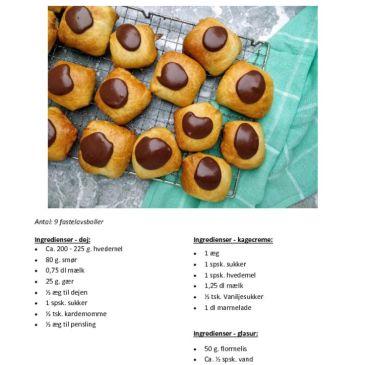 Gammeldags fastelavnsboller – en opskrift til madkundskab
