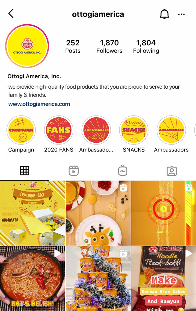 Skoop Client - Ottogo America Instagram Account