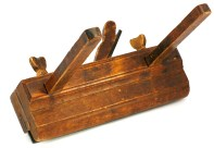 The ploug plane from the tool chest of Knut Larsen Høis. Photo: Roald Renmælmo