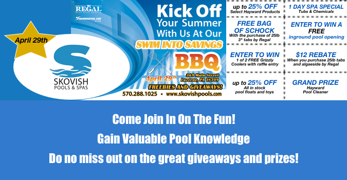 Swim Into Savings BBQ