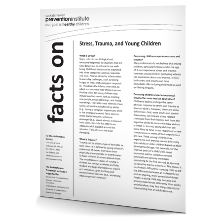 Trauma, Stress, and Young Children