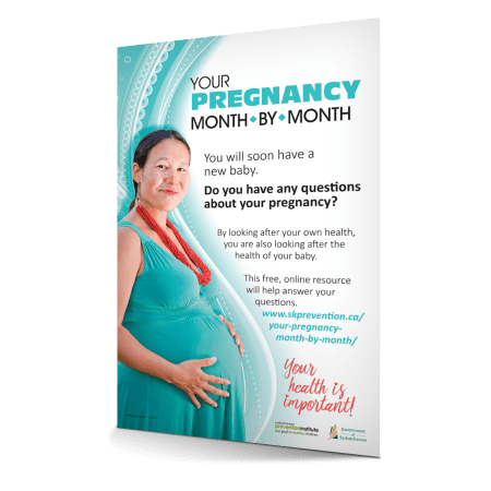 8-830: Pregnancy Month To Month Poster