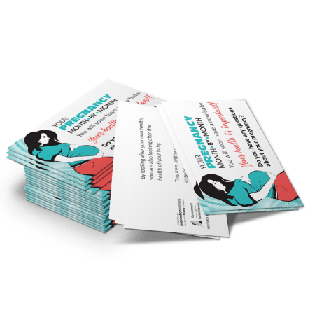 8-831: Your Pregnancy Month to Month Business Card