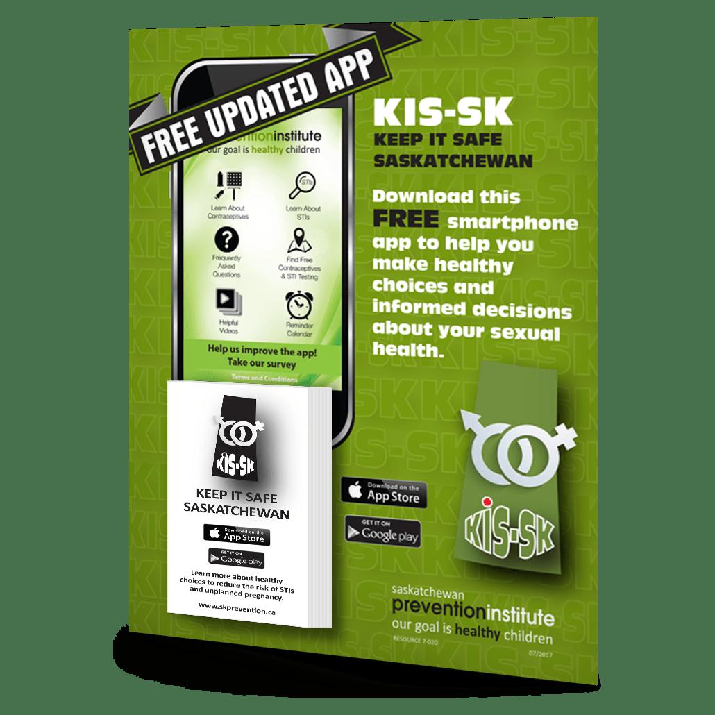 7-020: KIS-SK App Tear-Away Poster