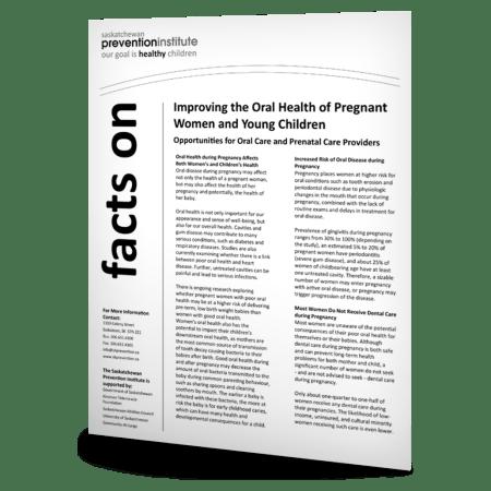 2-805: Oral Health Fact Sheet