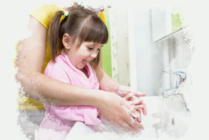 Your child will also have to learn how to take down her pants and underpants, wipe herself, and then wash her hands when she is finished