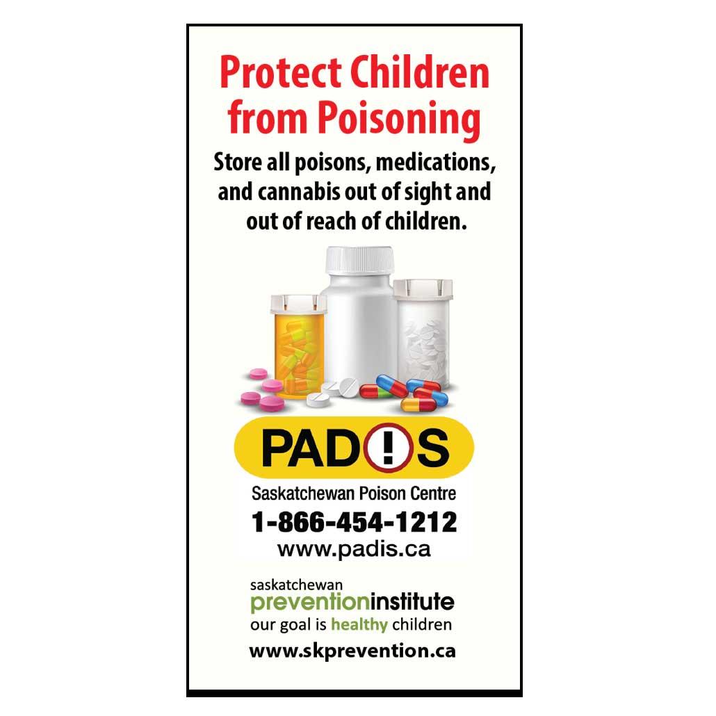 Saskatchewan Poison Centre Magnet